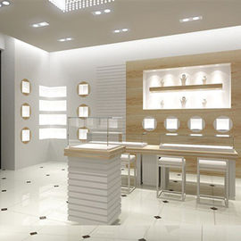 中国 complete maple glass showcase system for jewelry 工場